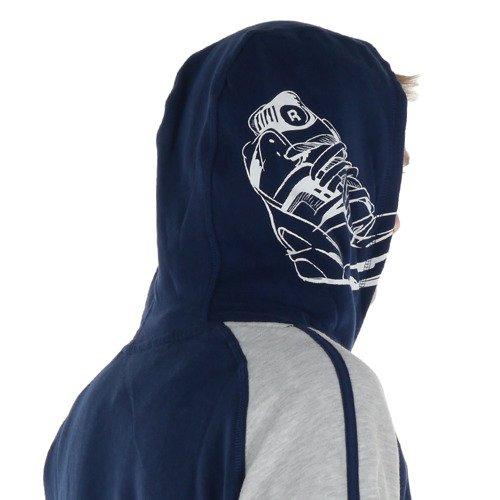 Bluza Reebok Pump sportowa dresowa z kapturem
