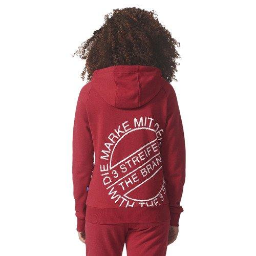 Bluza sportowa Adidas Originals Full Zip Hoodie damska dresowa rozpinana z kapturem