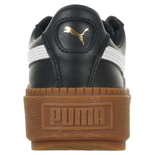 Buty Puma Basket Platform Trace L damskie sportowe skórzane