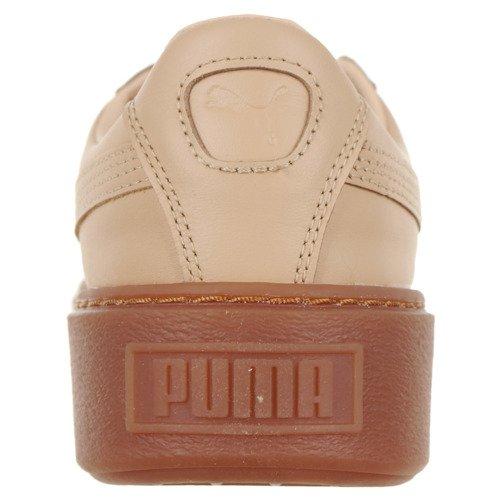 Buty Puma Platform Veg Tan Naturel damskie sportowe skórzane
