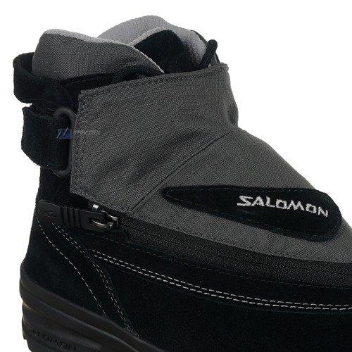 Buty Salomon ADV 7 unisex trekkingowe zimowe skórzane