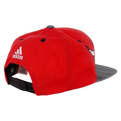 Czapka z daszkiem Adidas Chicago Bulls Flat-Brim Cap unisex sportowa