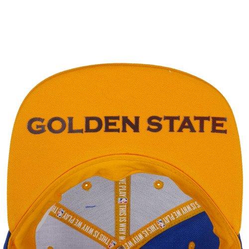 Czapka z daszkiem Adidas NBA Cap Golden State Wariors unisex sportowa
