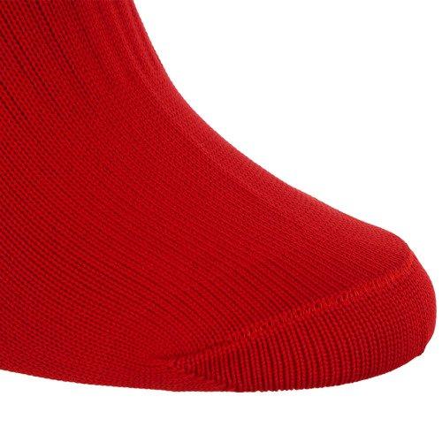 Getry piłkarskie Adidas Milano Socks sportowe treningowe czerwone