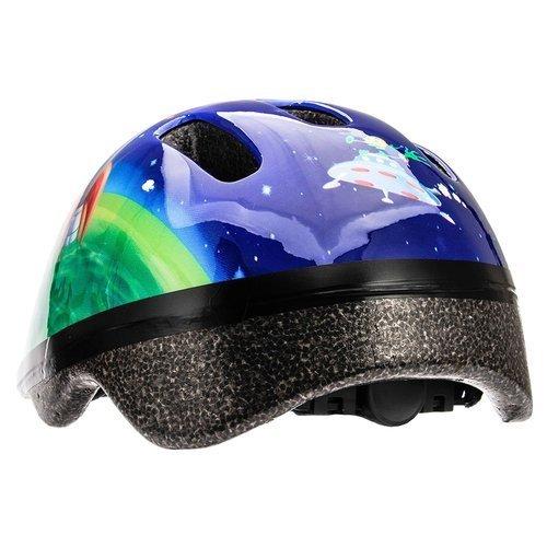 Kask dziecięcy na deskorolkę Meteor MV6-2 Cosmic Rocket skate na rower rolki
