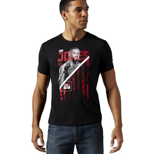 Koszulka Reebok Combat UFC Jon Bones Jones męska t-shirt sportowy
