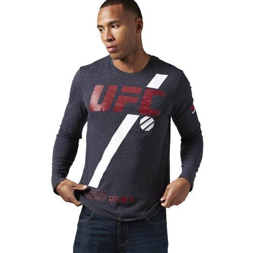 Koszulka Reebok Combat UFC MMA Fan męska longsleeve sportowa