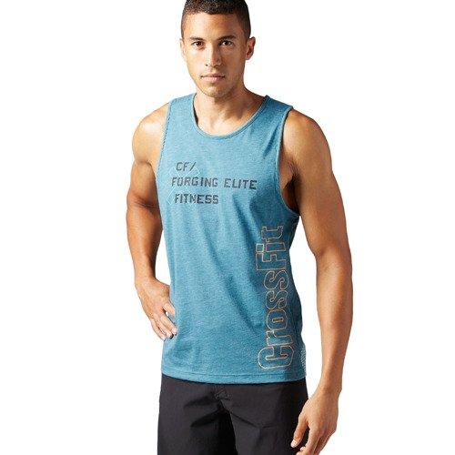 Koszulka Reebok CrossFit Burnout męska bezrękawnik sportowy na siłownie