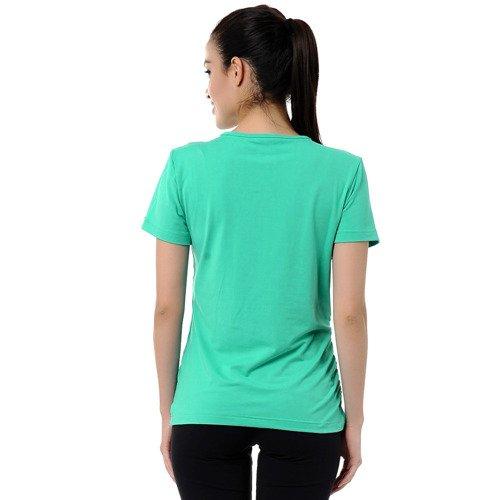 Koszulka Reebok Vneck damska sportowa termoaktywna t-shirt fitness