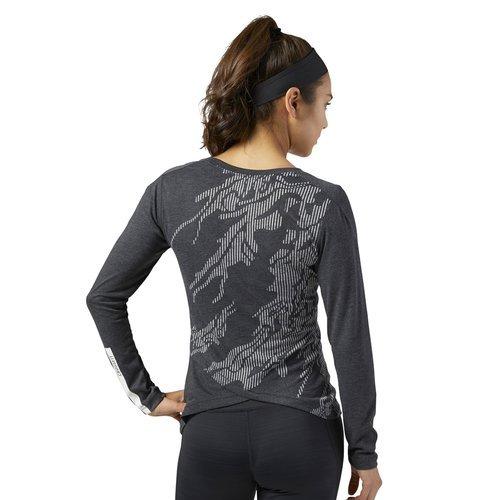 Koszulka z długim rękawem Reebok CrossFit Burnout damska sportowa bluzka