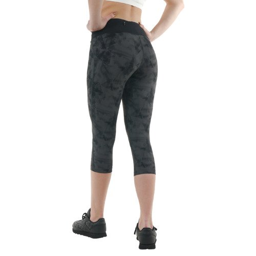 Legginsy 3/4 Asics FuzeX Knee Tight damskie getry sportowe termoaktywne