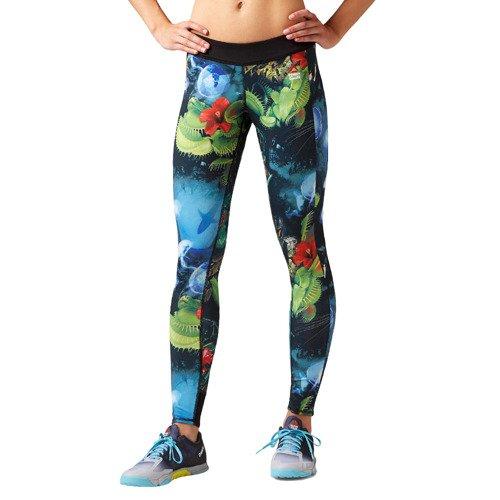 Legginsy Reebok CrossFit damskie dwustronne getry sportowe termoaktywne