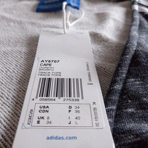 Narzuta Adidas Originals Cape damska dresowa sportowa kimono