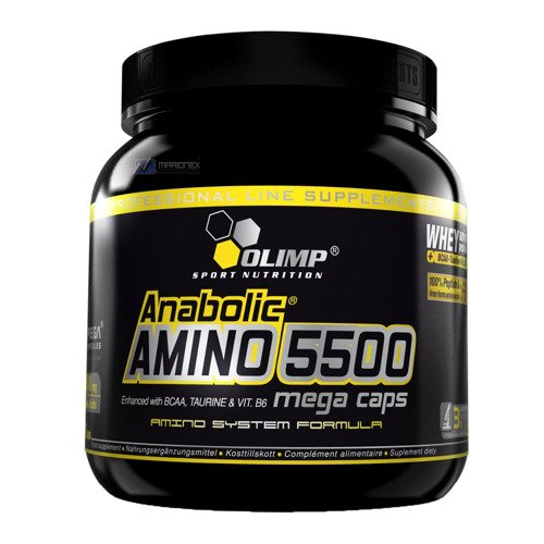 OLIMP Anabolic Amino 5500 Mega Caps 400-kapsułek aminokwasy
