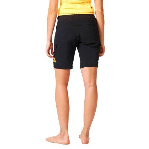 Spodenki 2w1 Adidas Trail Race damskie szorty rowerowe z wkładką