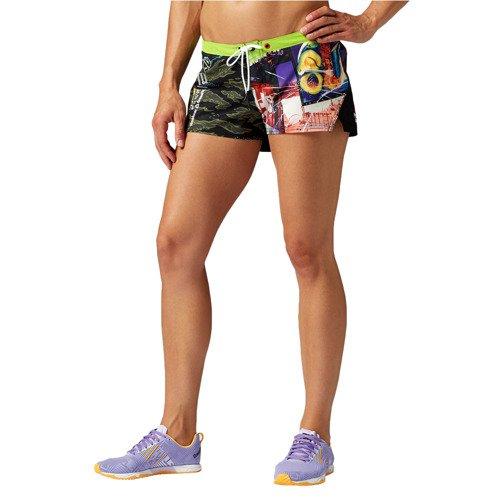 Spodenki Reebok CrossFit Tactical damskie szorty sportowe termoaktywne