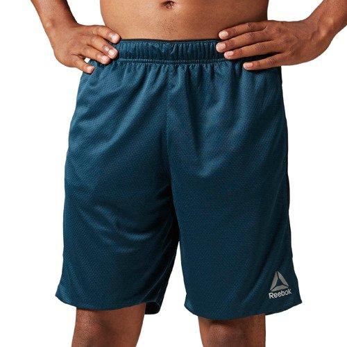 Spodenki Reebok Workout Knit męskie sportowe termoaktywne treningowe