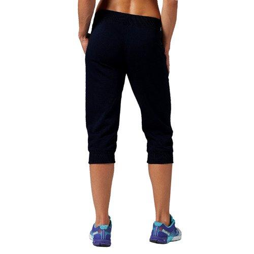 Spodnie 3/4 Reebok EL Capri damskie dresowe sportowe do biegania