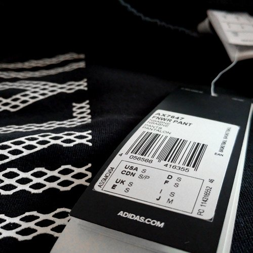 Spodnie Adidas Fan Wear Brooklyn Nets męskie dresy sportowe