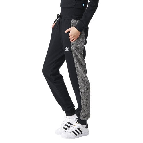 Spodnie Adidas Originals Shell Cuffed damskie dresowe sportowe