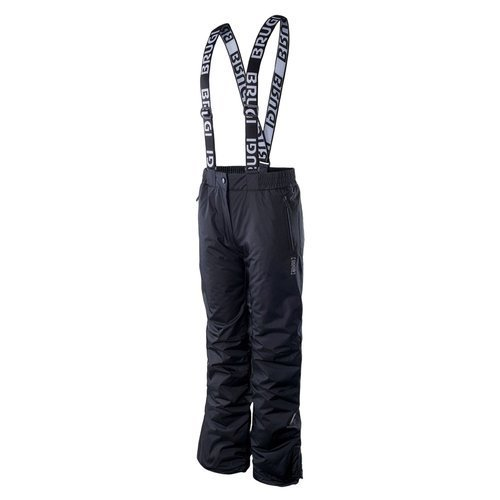 Spodnie Brugi 2AIV 500 damskie ocieplane narciarskie na szelkach