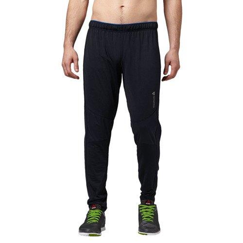 Spodnie Reebok Thermal męskie dresowe ocieplane sportowe