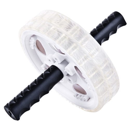 Wałek podwójny Spokey Double Roller kółko podwójne do ćwiczeń fitness