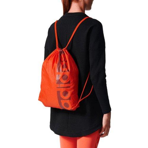 Worek na buty Adidas Linear Performance plecak sportowy do szkoły na siłownie fitness